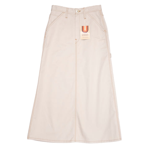 Universal Overall Painter Skirt, Ivory