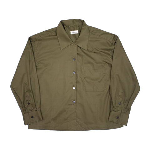 Peacher Uniform Shirt, Khaki Green