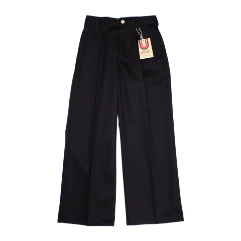 Universal Overall Wide Pants, Black