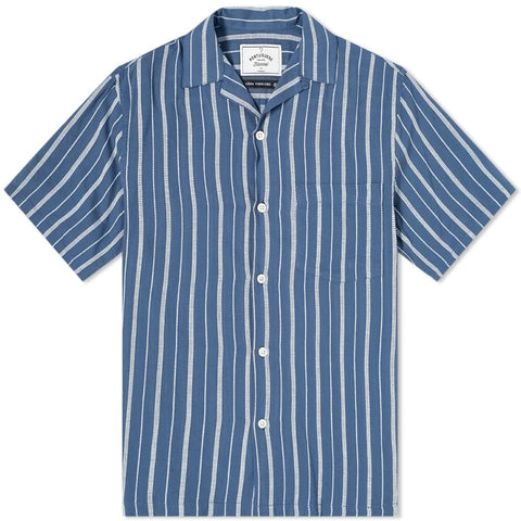 Portuguese Flannel, Jimmy, Blue / White