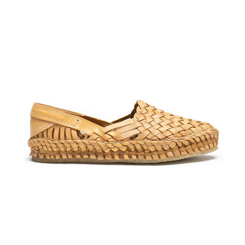 Mohinders Woven Flats, Natural