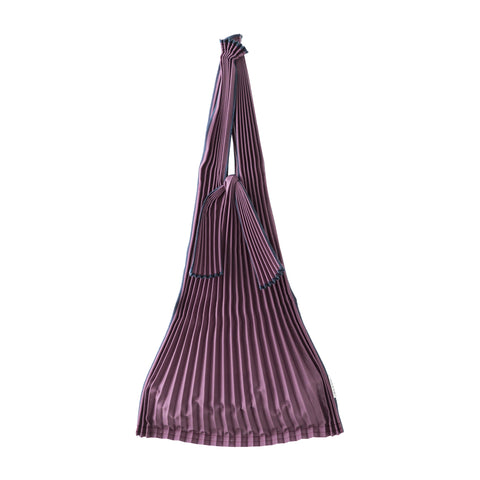 Kna Plus Tate Pleats Bag Small, Wine