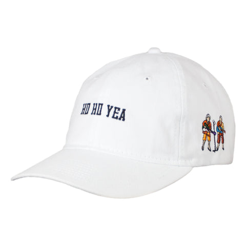 "Carnaby Fair ""Ho Ho Yea"" Cap, White"