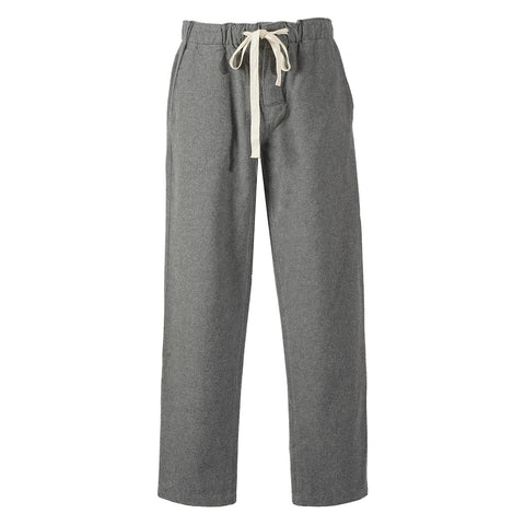 Portuguese Flannel Chemy Trousers, Grey