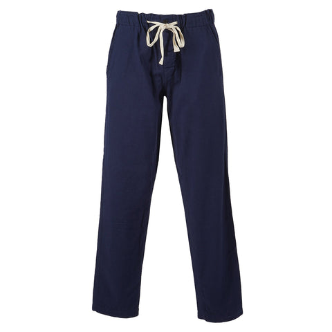 Portuguese Flannel Chemy Trousers, Navy