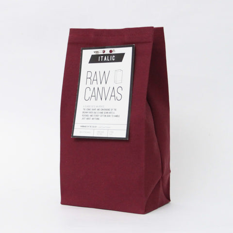 Italic Home Brown Bag, Burgundy