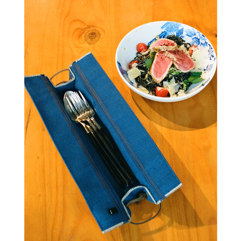 Jobu Cutlery Case S, Blue