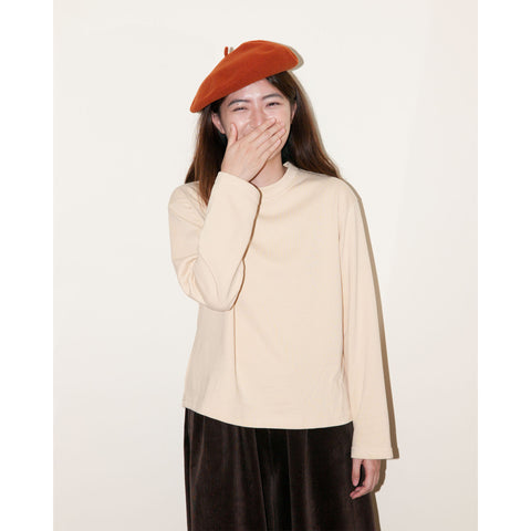 Peacher Sweatshirt, Ivory