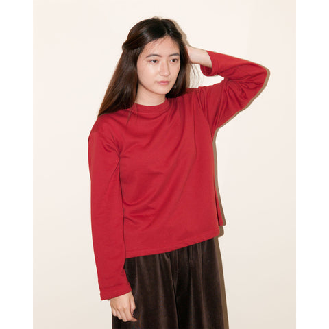 Peacher Sweatshirt, Red