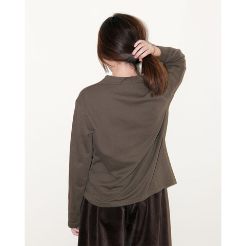 Peacher Sweatshirt, Khaki