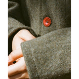 Le Laboureur Wool Jacket, Kaki