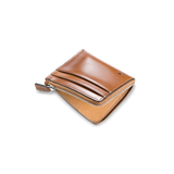 Il Bussetto Small Zippy Wallet, Desert