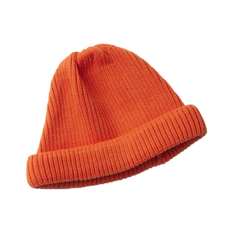 RoToTo Roll Up Beanie, Orange