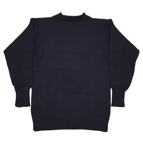 Le Tricoteur Guernsey Sweater, Navy