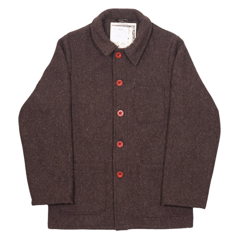 Le Laboureur Wool Jacket, Marron