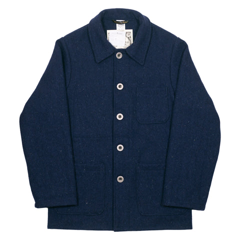 Le Laboureur Wool Jacket, Marine