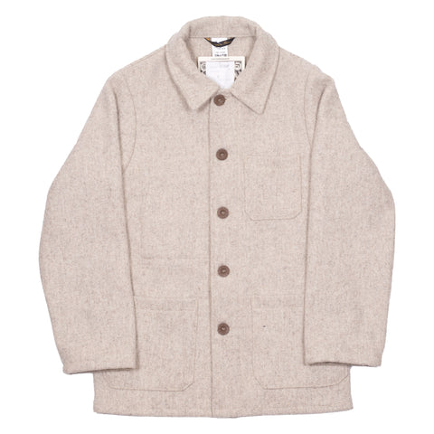 Le Laboureur Wool Jacket, Beige