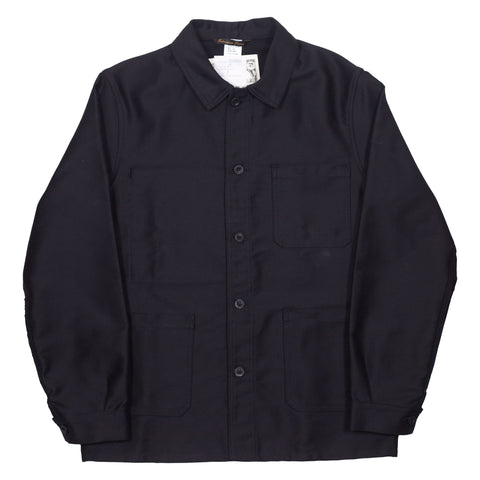 Le Laboureur Moleskin Jacket, Black