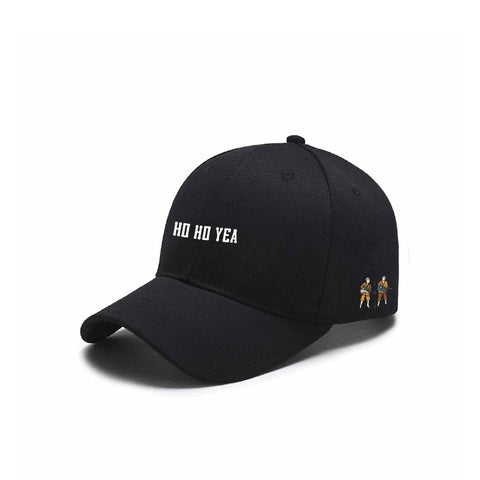 "Carnaby Fair ""Ho Ho Yea"" Cap, Black"