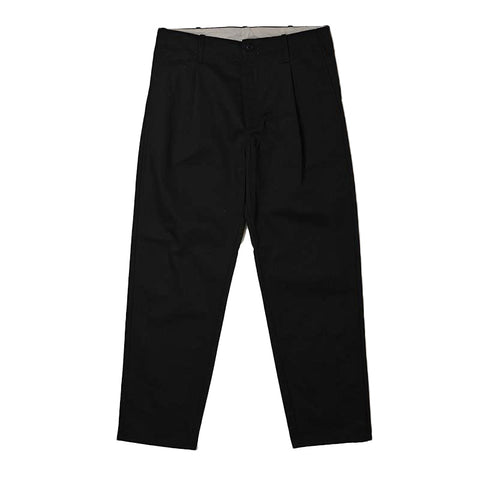 Universal Overall 847 Industrial Tuck Pants, Black