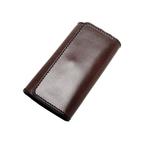 Il Bussetto Key Case, Dark Brown