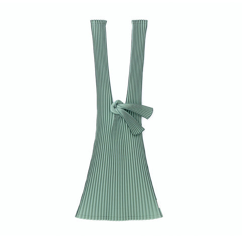 Kna Plus Tate Pleats Bag Large, Green