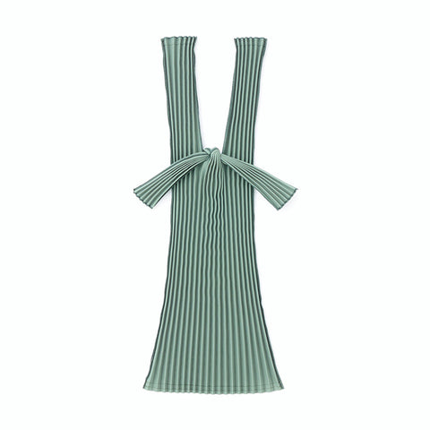 Kna Plus Tate Pleats Bag Small, Green