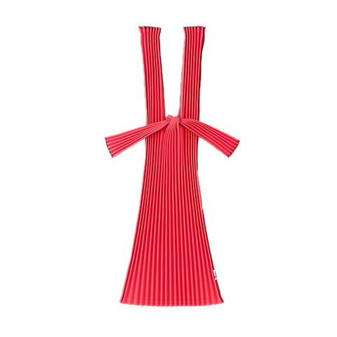 Kna Plus Tate Pleats Bag Small, Red