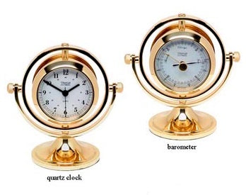 Skipjack Clock and Barometer