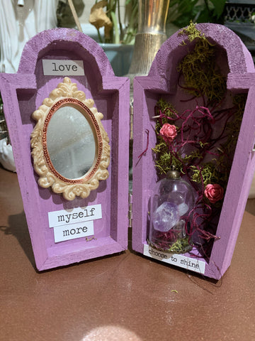 Mini Oddity Coffin Box - Self Love