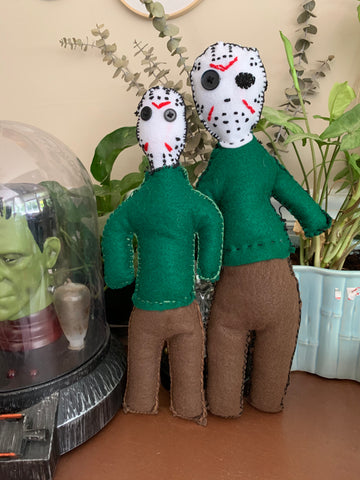 "Horror ""Voodoo"" Dolls - Jason Friday the 13th"