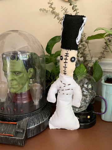"Horror ""Voodoo"" Doll - Bride of Frankenstein"