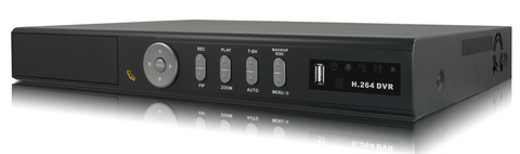 GOLDEN STATE 16 Channel H.264 DVR 2TB With DVD Player & Pentaplex Operation (ONLY 2 AVAILABLE) - PAM Distributing Co