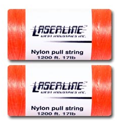 "Laserlineб'Т""а' Cable Installation Kit Nylon Replacement Pull String 1200' (2 Spools) - PAM Distributing Co"