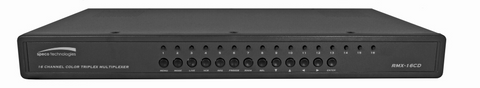 RMX16CD 16 Channel Color Duplex Multiplexer - PAM Distributing Co