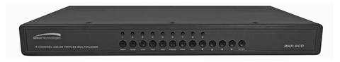 RMX9CD 9 Channel Color Duplex Multiplexer - PAM Distributing Co