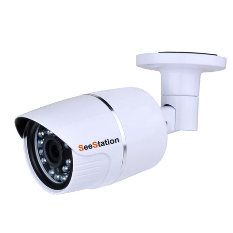 SeeStation (AHD) BULLET CAMERA 1MP/720P Analog High Definition 3.6mm AI 12V - PAM Distributing Co