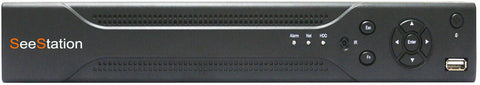 SeeStation 8 Channel Hybrid  DVR 1080P 2MP  4 in 1 Technology TVI+AHD+CVBS+Standard Analog - PAM Distributing Co