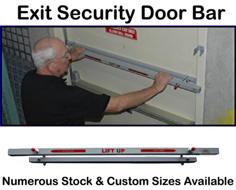 "Door Bar 42"" Exit Door Security Bar"