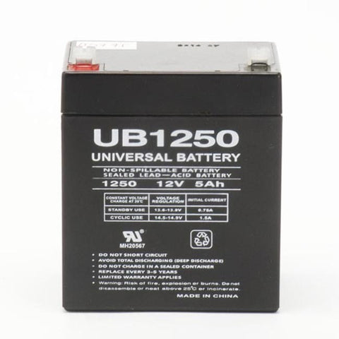 Battery 12 VOLT 5 AMP (F1 Terminals) - PAM Distributing Co