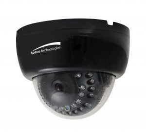 Speco PRO-CLED30D1B  DOME CAMERA INDOOR 2.8-12MM IR 600L B - PAM Distributing Co