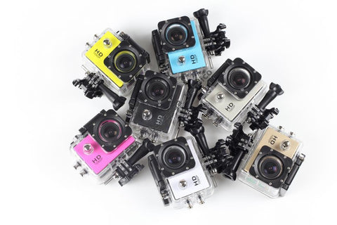 SeeStation Sport Action Camera Rugged 12MP Silver GOPRO COMPATIBLE - PAM Distributing Co - 1