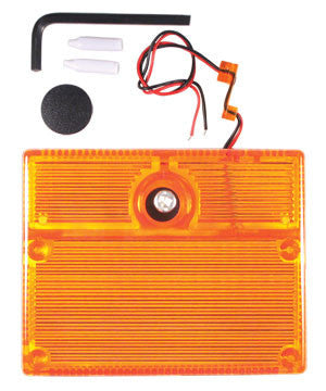 ELK-SL1A STROBE LIGHT- AMBER - PAM Distributing Co