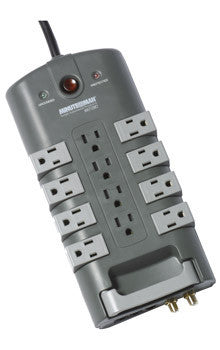 MinutemanаЂаŽ MMS7120RCT SURGE PROTECTOR	 12-Outlet/8-Rotating Outlet with coax and phone line protection - PAM Distributing Co