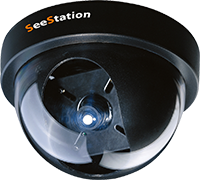 "SeeStation C2128AF8V Dome Camera Interior 700TVL 3.6mm Lens DC 12V 4.5"" - PAM Distributing Co"