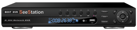 SeeStation DVR 4 Channel Full D1 All Real - PAM Distributing Co