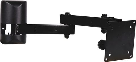 "VIDEO MOUNT PRODUCTS 10-23"" LCD ARTICULATING MOUNT BLACK - PAM Distributing Co"