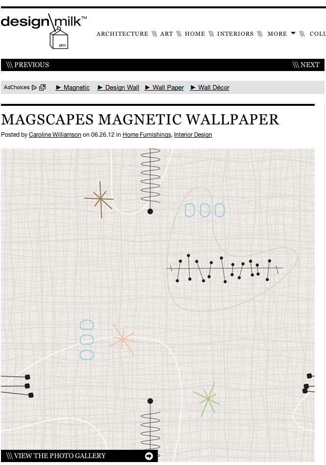 MagScapes - Design Milk