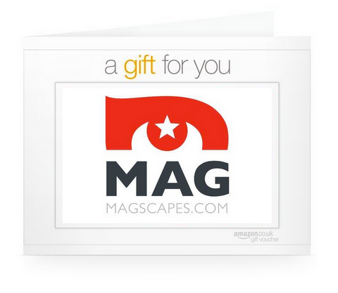 MagScapes say Thanks with an Amazon Gift Voucher