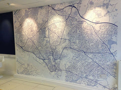 MagPrint™ Wall Maps - Made to Order - MagScapes  - 18